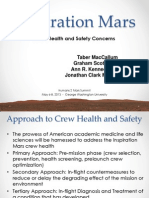 Inspiration Mars Crew Health and Safety Concerns Taber MacCallum