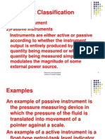 5 Instrument Classification