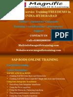 Sap BODS-data Service Training / FREEDEMO in Online INDIA-HYDERABAD