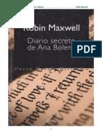 Maxwell Robin - Diario Secreto de Ana Bolena (1992)