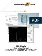 ECO Studio Operation Manual ECOVARIO ECOSTEP 090625 Engl
