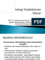 1. Mikrobiologi Kedokteran Dasar