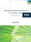 Storage Implementation in VSphere 5