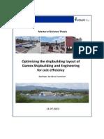 DAMENOptimizing the Shipbuilding Layout
