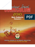 Secondary Curriculum 2010 Vol-1