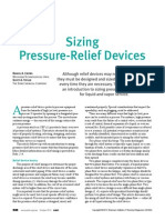 Sizing of Pressure Relief Valve