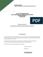 Statistik BPDAS Mahakam Berau 2009