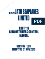 vsl part 119 airworthiness control manual v1 09 21 11 13