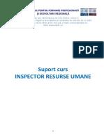 Suport Curs Inspector Resurse Umane