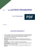 Unix Linux Admin 1