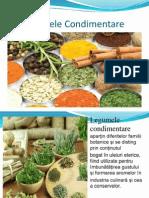 legumele condimentare