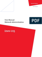 Ineo 215 Network Administrator en 1 1 0