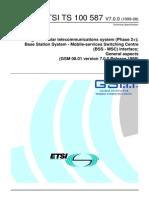 GSM 08.01 V7.0.0