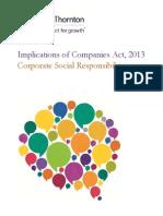 Implications Companies Act Csr