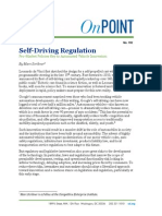 Marc Scribner - Self-Driving Regulation