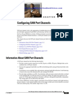 Configuring SAN Port Channels