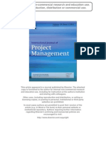 Impacts of Multi-layer Chain Subcontracting on Project