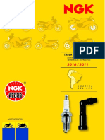 Catálogo NGK Bujías Para Motos