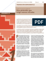 Cepal Transicion Demografica en America Latina
