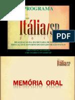 Subsídios Memoria Oral