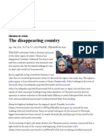 Ukraine in Crisis_ the Disappearing Country _ the Economist