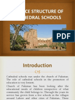 Service Structure of Cathedral Schools 3-2