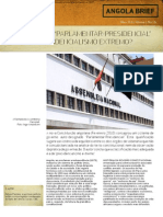 Sistema Parlamentar Presidencial