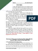 Đề Tài Chấm Điểm Tín Dụng Các Doanh Nghiệp Tại Ngân Hàng Ngoại Thương Việt Nam
