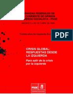 Dossier Jornadas is-psoe. Octubre 2009