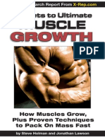 Secrets to Ultimate Muscle Growth
