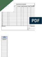 Form Ope 00001 Registro de Extintores