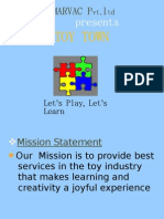 Toy Town -  Business Model Project