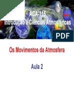 Introdução as Ciências Atmosféricas