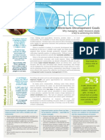 WWAP Water and MDGs