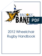 Brooks Bandits Wheelchair Rugby Manual