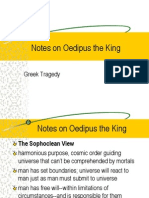 Notes on Oedipus the King