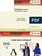 Software Livre Ubuntu Desktop