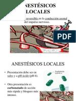 1.11. Anestésicos Locales