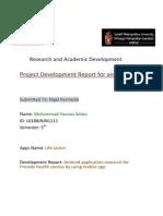 200447187 Android App Development Report