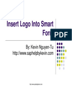 How to - Insert Logo Into Smart Form