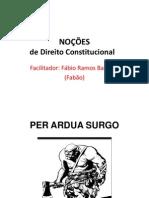 Direito Constitucional Aula 1