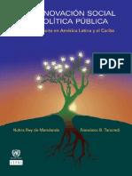 CEPAL Nnovacion Social Politica Publica