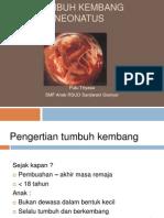 k.10 Tumbuh Kembang Neonatus (Nbs). Kuliah Final