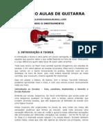 Roteiro Aulas de Guitarra