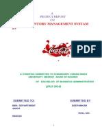 Project Coca Cola DEEPANKAR