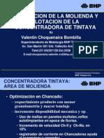 Optimizacion de Molienda y Flotacion en Bhp