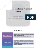 A Journey of Excellence in General Practice