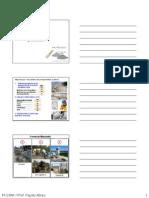 Unidad 4 (Concretos, Morteros y Encofrados) Enero 2014
