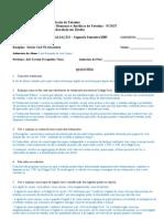 Terceira Avaliação - Especial - 2009-2 - Direito das Sucessões