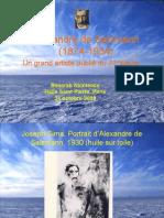Basarab Nicolescu, Alexandre de Salzmann, un grand artiste oublié du 20e siècle